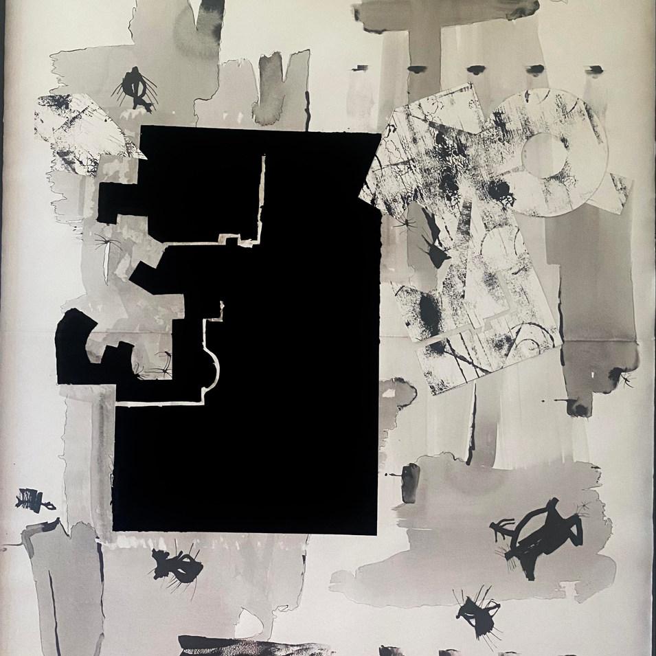3.Monochromatic Patterns (100 x160 cm)