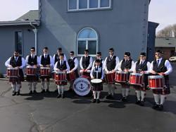 RIHPB Drummers