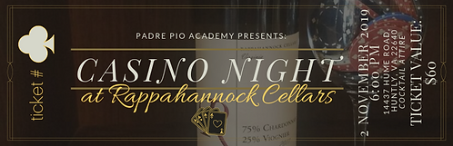 Casino Night at Rappahannock Cellars