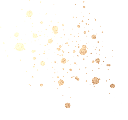 Elements gold dots splatter fade.png