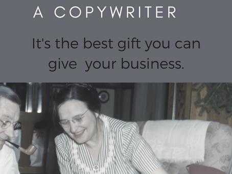 5 Reasons Why You Need a Copywriter