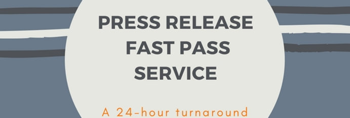 Press Release Add-On: Fast Pass Service