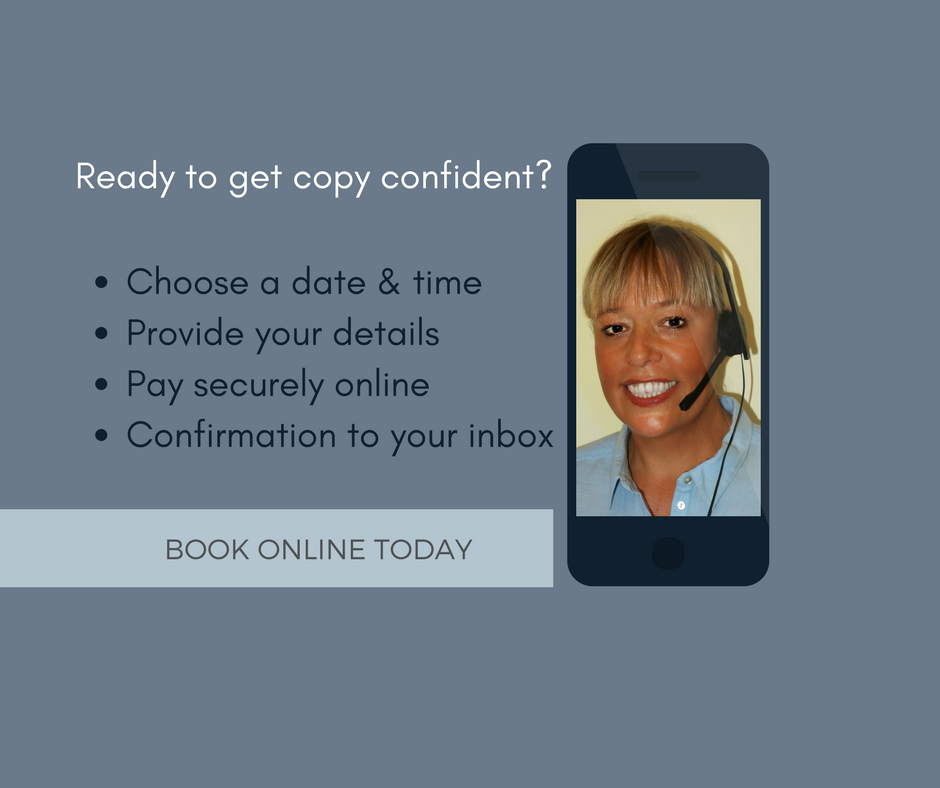 Telephone Copy Consultation