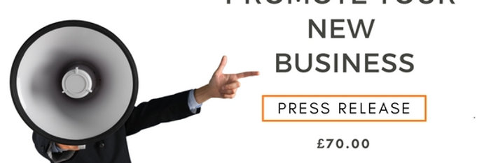 Promote Your New Business- Press Release