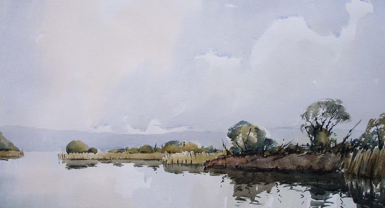 Small Lake Cosmeston.