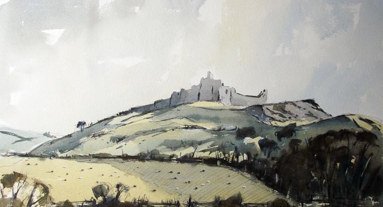 Carreg Cennen Castle.
