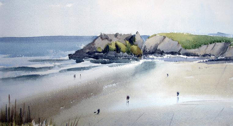 Pembrokeshire beach.