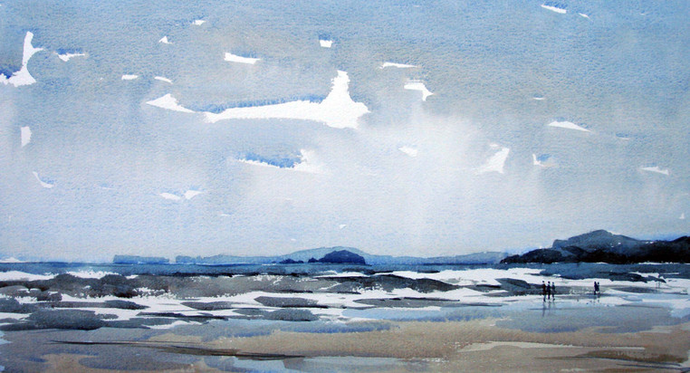 Newgale beach.