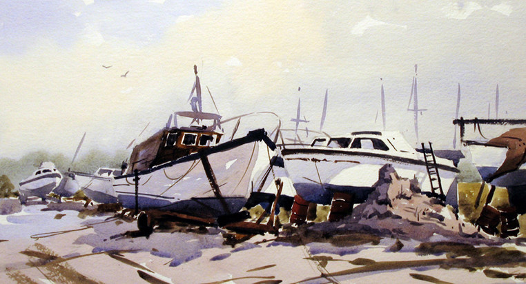 Boats at rest.