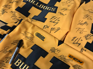 New Team Signed Jerseys/Sticks