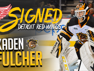 Kaden Fulcher Signed Stick Auction