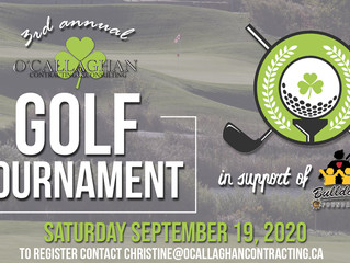 3rd annual O'Callaghan Golf Tournament in support of the Bulldogs Foundation..