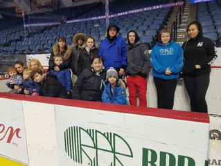 Hamilton Bulldogs Partner Ashley Home Store Provide Beds to Families in Need