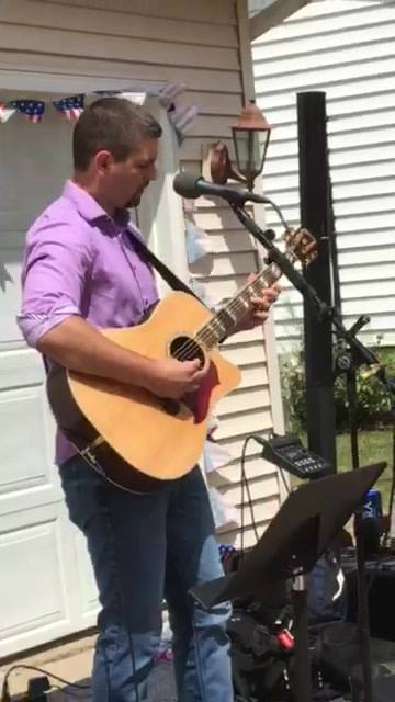 "AJ ""Apple jacked"" Tetzlaff ripping through some Dire Straits! Awesome rendition of ""Sultans of Swing""!  Hit play, turn it up and enjoy! (We sure enjoyed it)!  Thank you AJ for doing this song!   Loved it! Shawn ""Mac"" McKinnon"