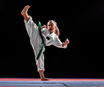 girl-practicing-martial-arts-picture-id1