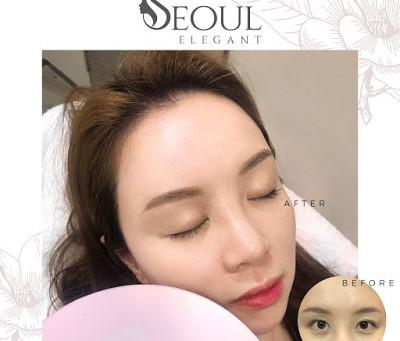 Seoul Elegant不結焦霧眉,彷如羽毛效果。。輕羽技術眉