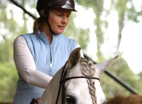 Christina holder ridekurs på nett!