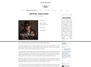 RobGeorg - Indie Music Album Reviews_www
