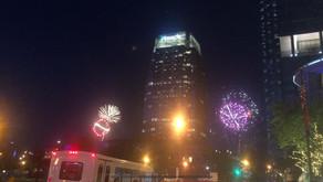 NFL Draft Fireworks