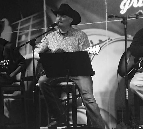 Countrysänger Rob Georg bei einem Auftritt in Nashville