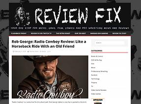 Rob Georg_ Radio Cowboy Review_reviewfix