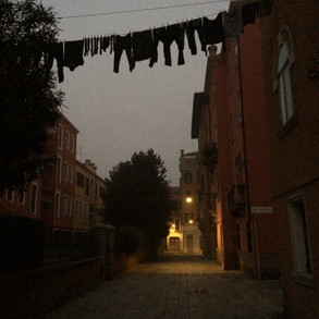 laundry in the night