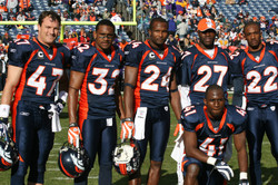 Denver Broncos Teammates