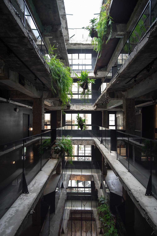 植光花園酒店, 植物, 天井