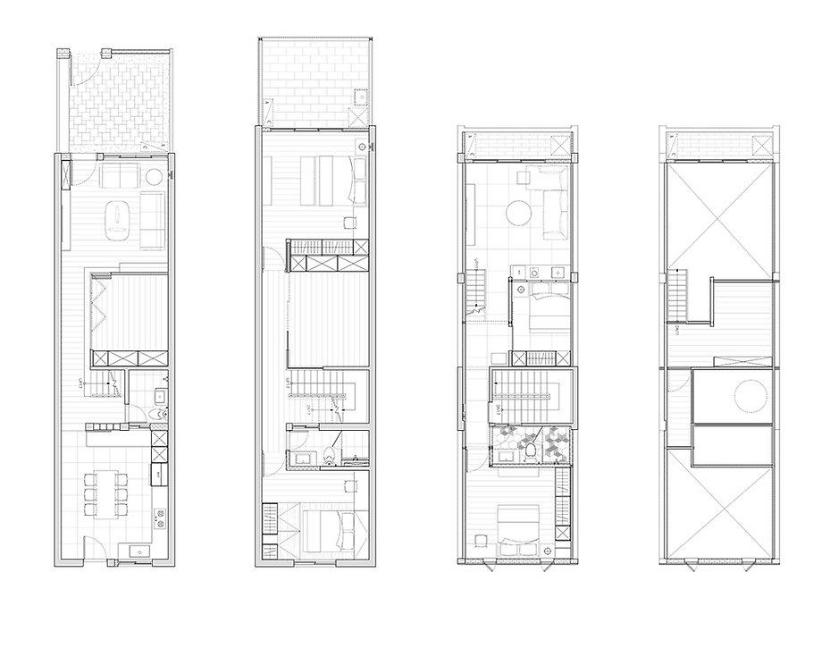 有隅空間規劃所作品,老屋翻新平面圖