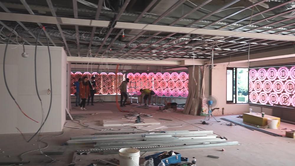 輕鋼架天花板施工
