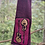 Thumbnail: Knit scarf with guitars, cotton rib