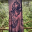 Thumbnail: Flowy rayon 2X dress with hibiscus and ferns