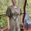 Thumbnail: Oversize Green dress, XL with flower and L with just leaves