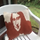 Thumbnail: Pillow case with Mona Lisa cotton knit