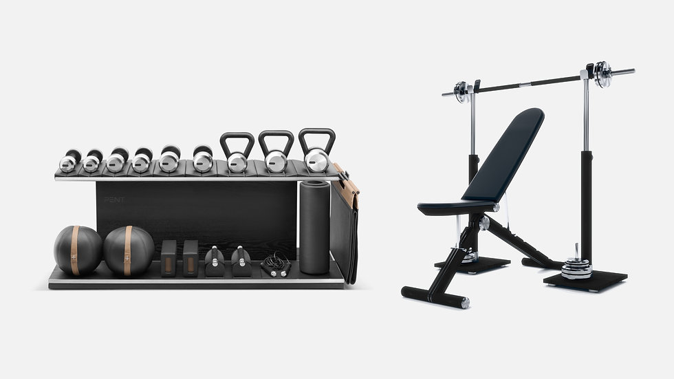 Special Limited Package / Combo Set + Advance Bench + Press Bench Rack