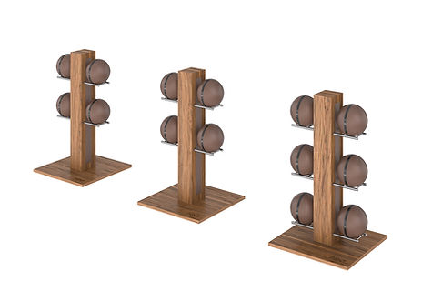 PENT MOXA Weighted Balls Vertical Rack S