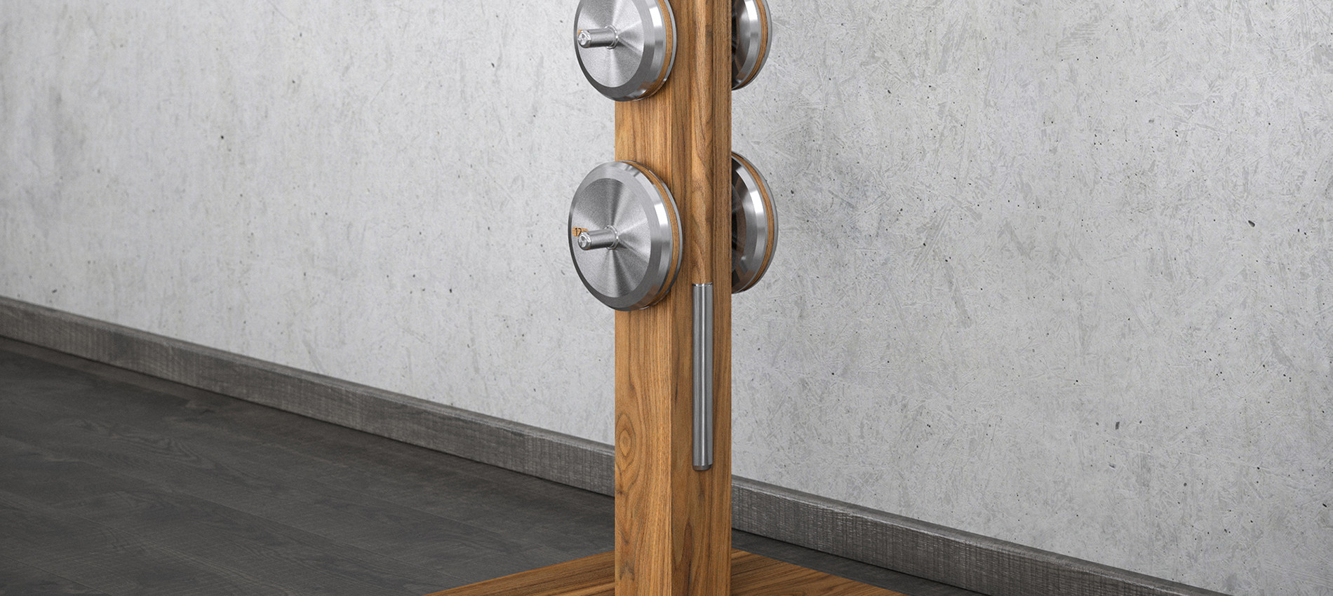LESNA Luxury Barbells Set