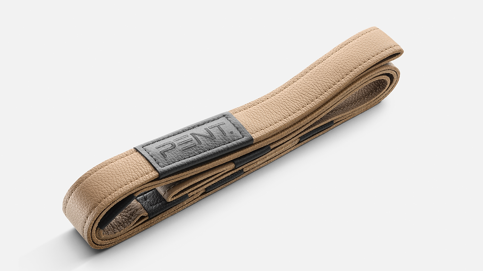 PENT. genuine leather yoga strap