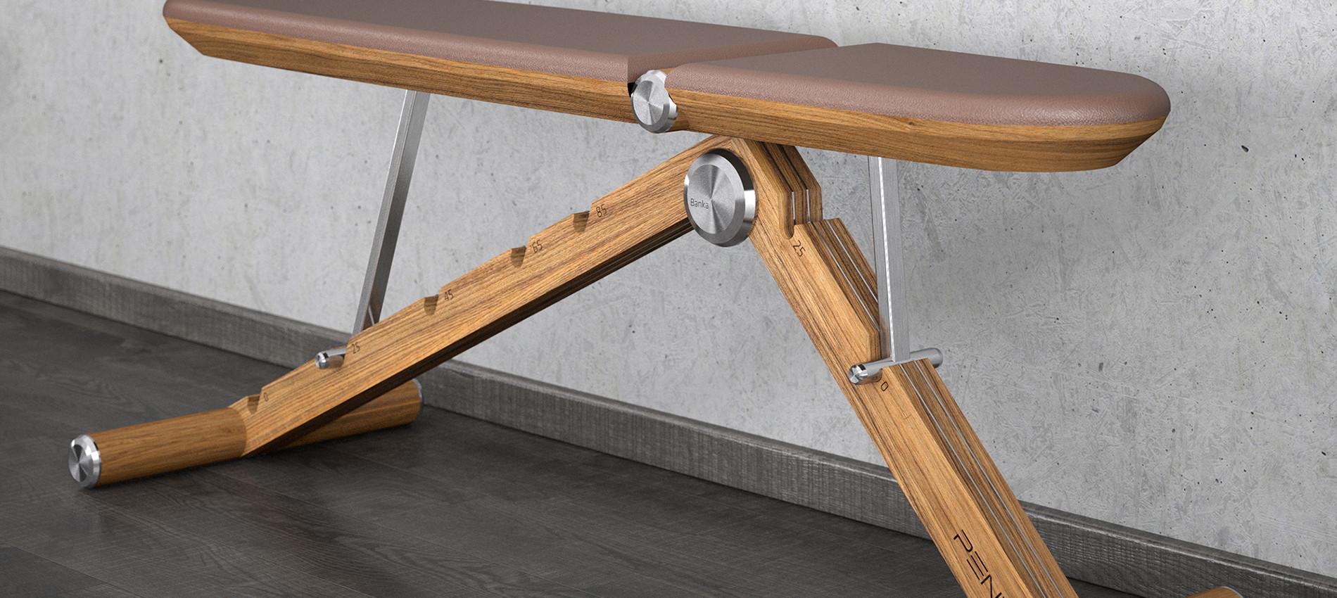 BANKA luxury weght bench home gym