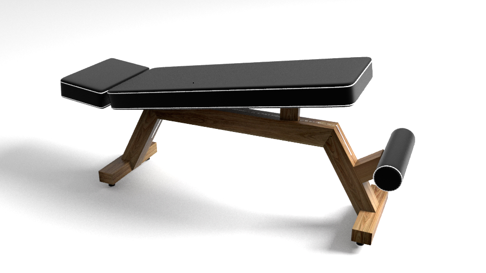 Fabulous Luxury Exercise Bench For Home Gym Bralicious Painted Fabric Chair Ideas Braliciousco