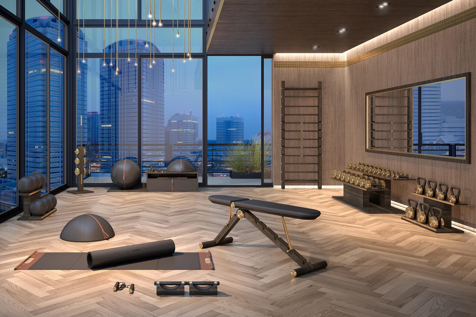 Luxury Bespoke Private Gym Equipment