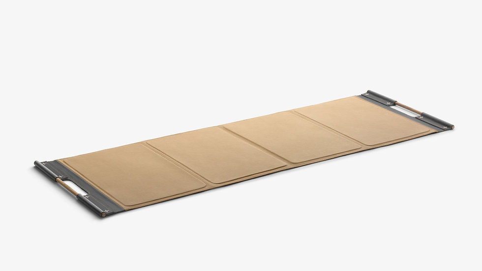 PENT. Genuine Leather Fitness Exercise Mat