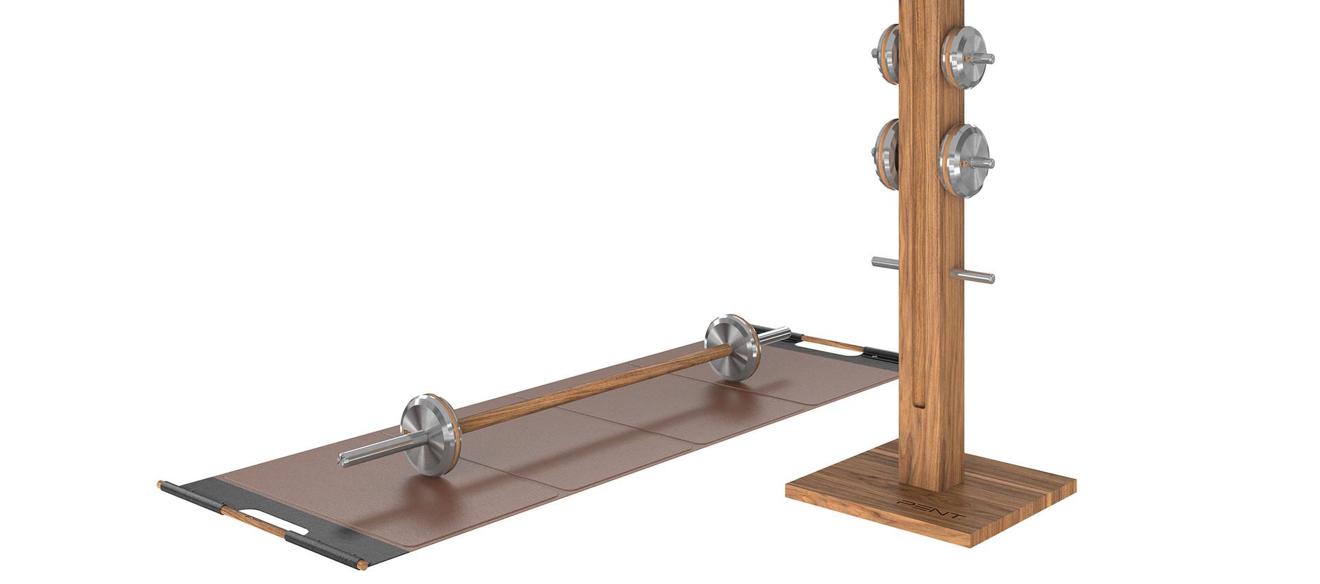 LESNA luxury stainless steel barbells se