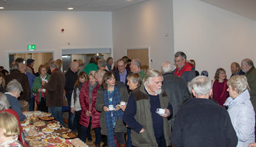 Visitors Hall Party