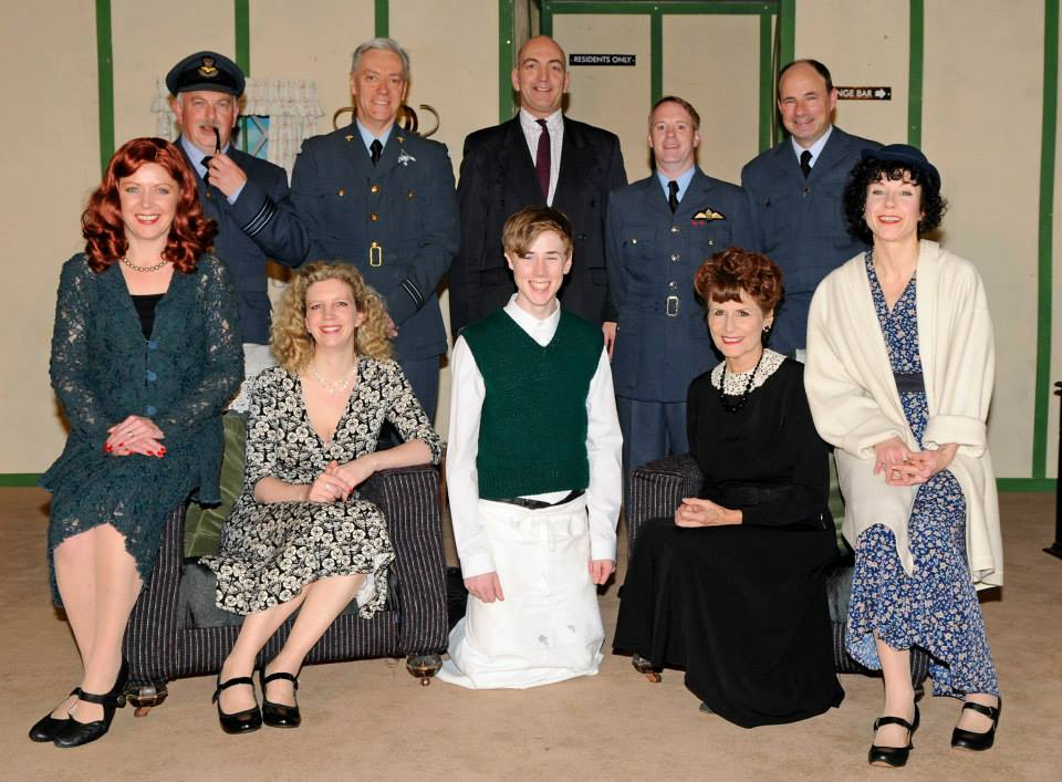 Flare Path Cast