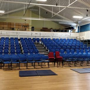 Inside the Britten Hall