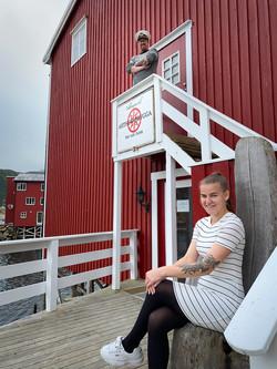 Hos Anders og Renate på Arthur-Brygga