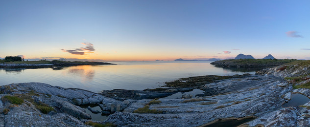 Flott skjærgård her på Nordøyvågen