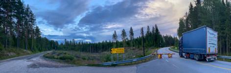Finnskogen ligger tett på grensa