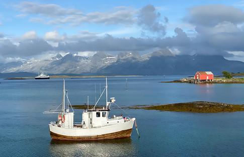 Feriestemning på Herøy